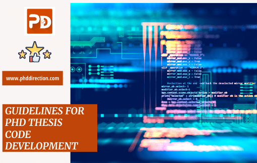 Guidelines for PhD thesis Code Development for Research Scholars