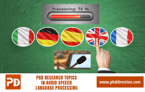 Implementing PhD Research Topics in audio speech and language processing