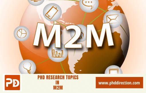 Innovative PhD Research Topics in M2M
