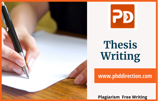 Thesis writing guidance for Research Scholars