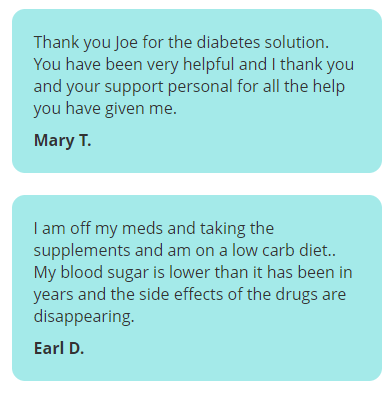 Diabetes Solution Kit Review-customer reviews