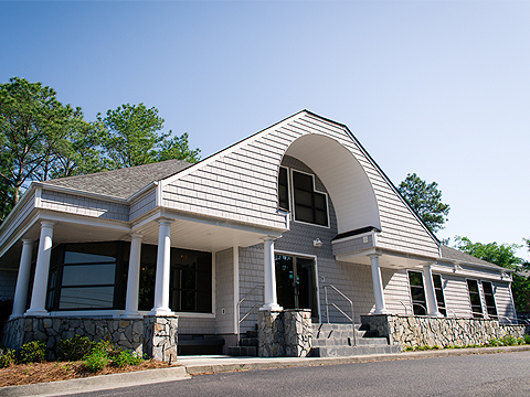 Phelps Family Dentistry office building in Wilmington, NC