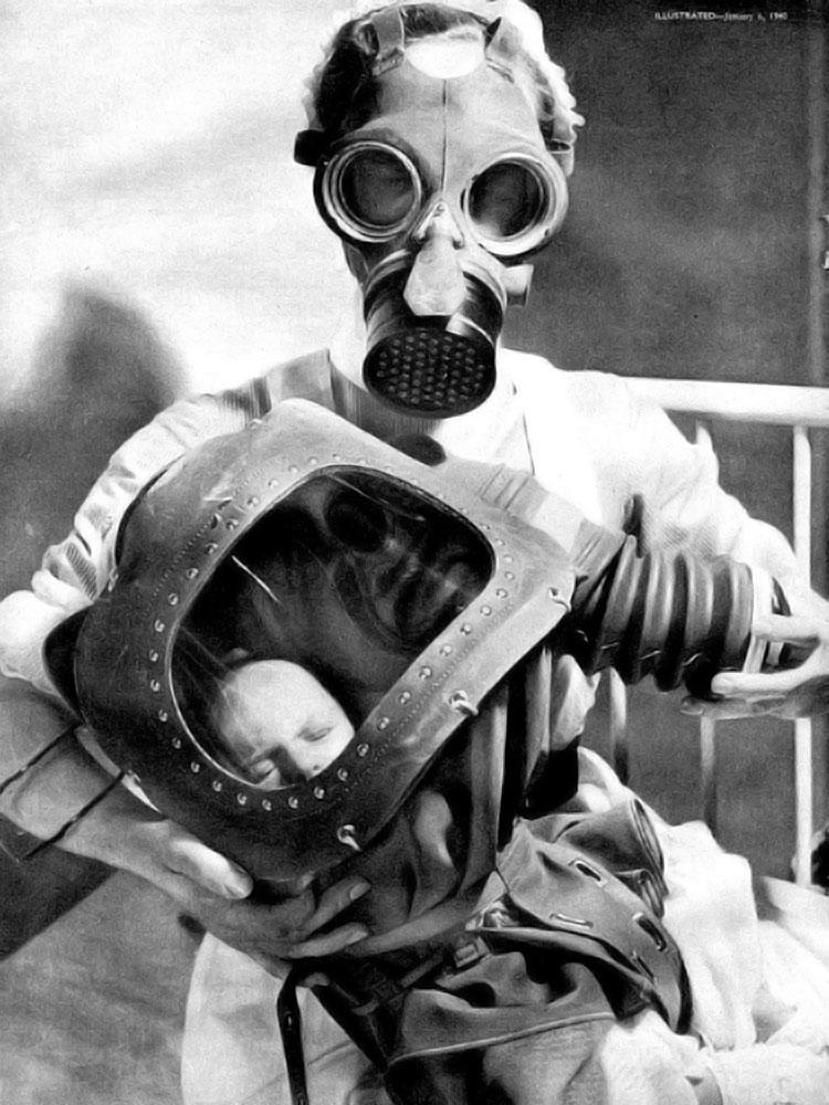 masque a gaz bebes homme