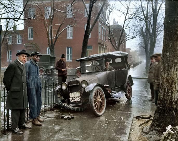 Top 25 photos anciennes historiques colorisées Washington DC