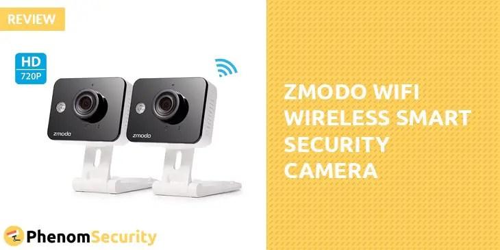 Zmodo WiFi Wireless Smart Security Camera