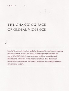 Changing Face of Global Violence Part I