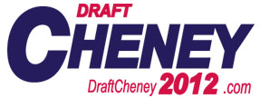 Draft Dick Cheney Logo
