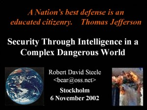 Secuirty Through Intelligence (Stockholm)