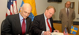 Sweden and Israeli Agent of Influence Sign Surveillance Agreement