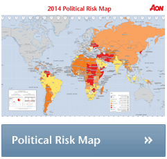 2014 political risk map