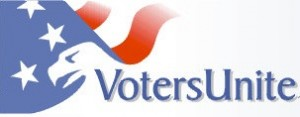 logo voters unite