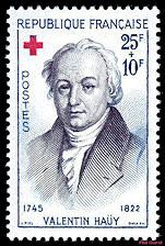 Valentin Hay 1745 1822 Croix Rouge Franaise Timbre De 1959