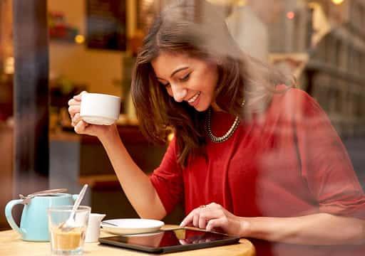 カフェで朝活代わりに
