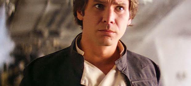 """Who me?"" Han Solo"