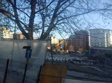 Taken October 26 2012. BBC Manchester Demolition