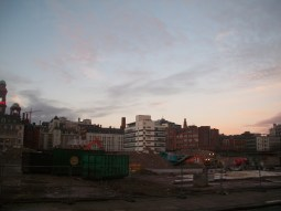 Photo taken November 21 Demolition of BBC New Broadcasting House Oxford Road Manchester