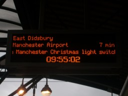 Departure Board Cornbrook