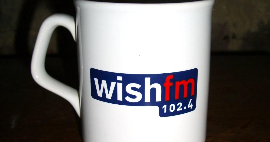 102.4 Wish FM mug (2006) by RADIO THINGS