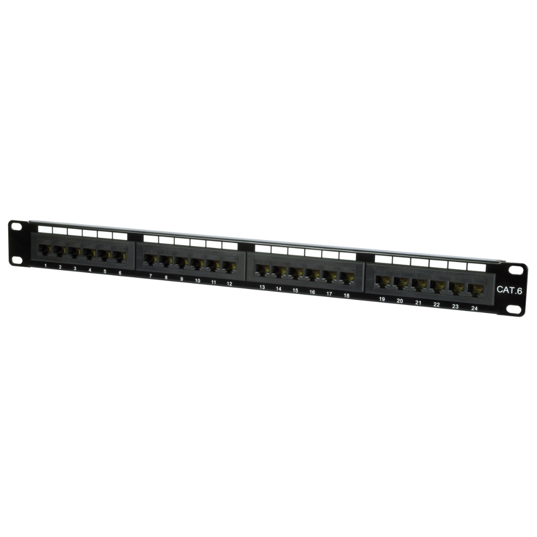 Philex 19 1u 24 Port Utp Cat6 Patch Panel