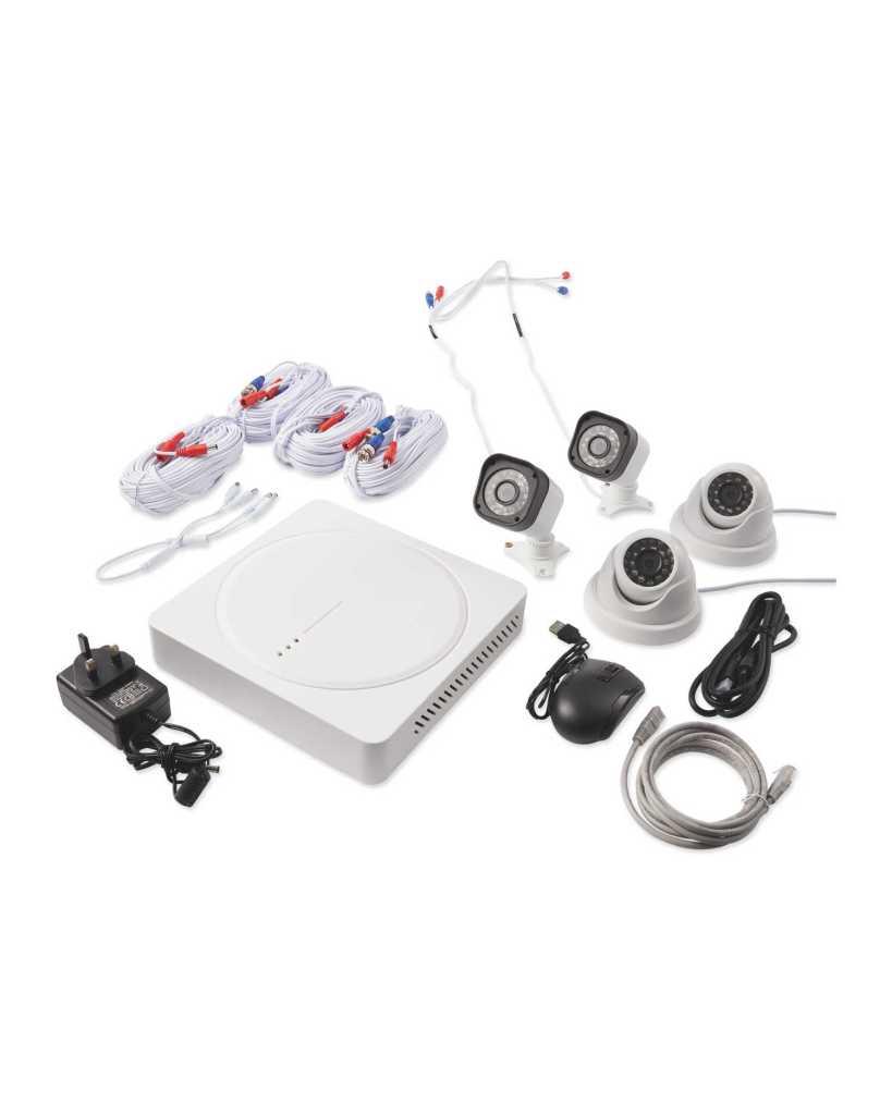 Setup of Aldi - Home Protector 1080p 4 Camera CCTV (2019