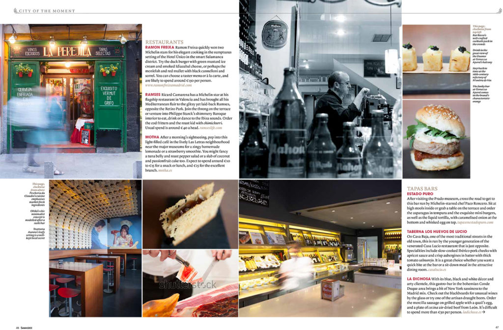 Garuda Indonesia in flight magazine 'Colours'