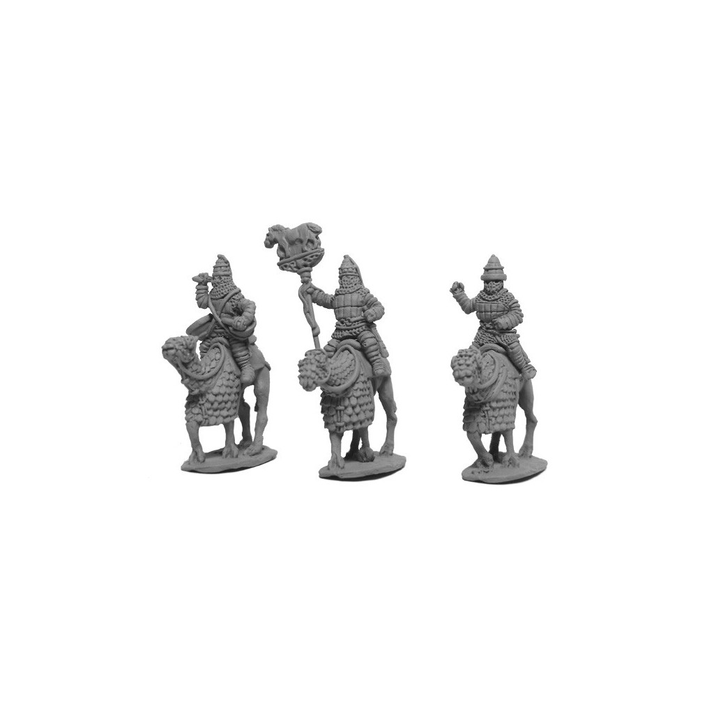 Parthian Cataphract Command 2nd Century On Camels
