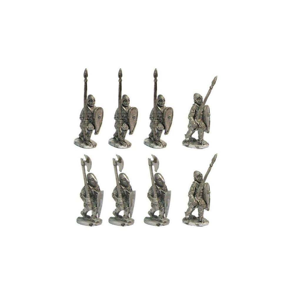 Heavy Infantry Spear Upright Xii Century