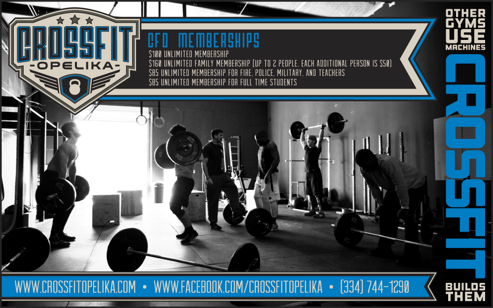 CrossFit Opelika Poster Philiciousness