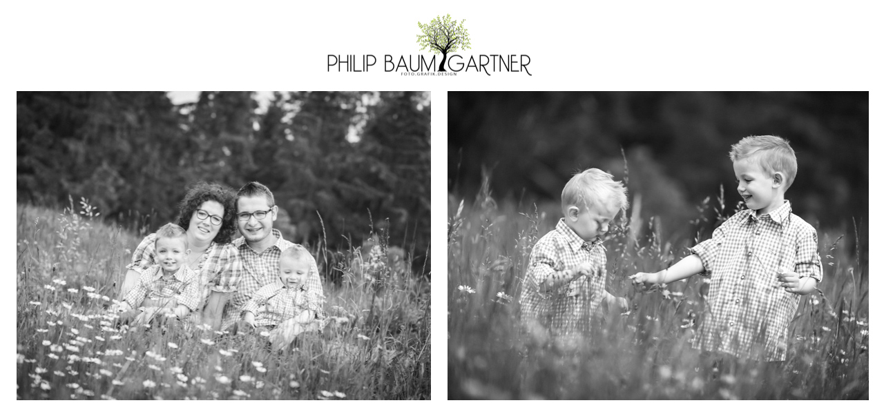 Familien Fotoshootings mit Philip Baumgartner