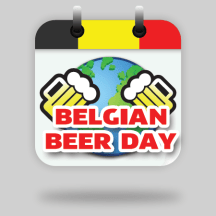 logo design BELGIAN BEER DAY