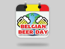logo design BELGIAN BEER DAY
