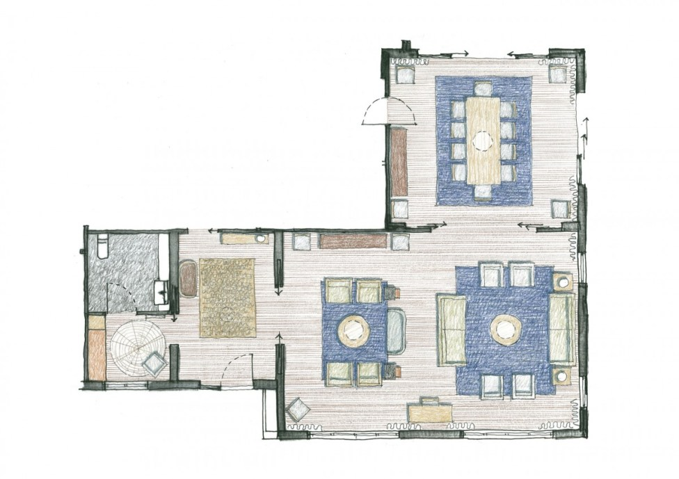 Ambassadors Residence Furniture Schematic