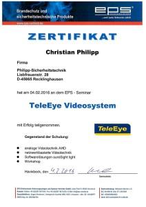 TeleEye Videoüberwachung