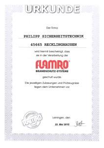 flamro Brandschutz-Systeme