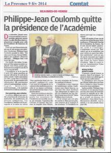 Académie presse la Provence AG 2014 001