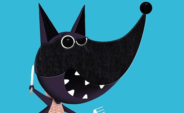Canciones en francés con ilustraciones de Philippe Jalbert