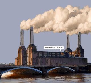 Battersea -- Medium 80x80 239€ // Large 100x100 299€