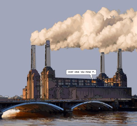 Battersea -- Medium 80x80 239€ // Large 100x100 299€