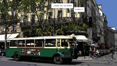 Bus Flore -- Medium 80x50 199€ // Large 130x70 379€