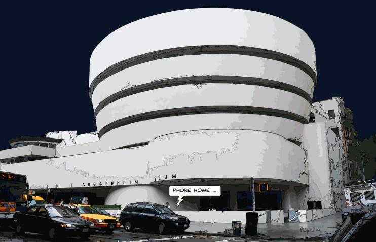Guggenheim -- Medium 90x60 229€ // Large 140x90 449€