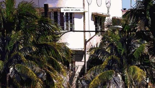 Miami // Sunny... -- Medium 90x50 219€ // Large 140x80 429€