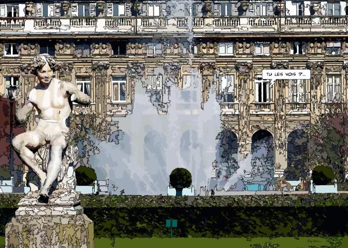 Palais royal -- Medium 80x60 219€ // Large 140x100 429€