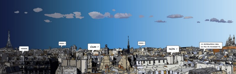 Panorama Paris -- Large 190x60 469€