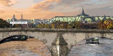 "Grand Palais ""en retard"" -- Medium 120x60 299€ // Large 160x80 479€"