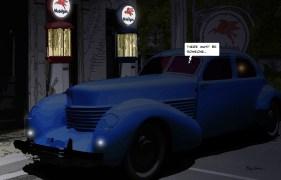 Blue Cord Mobil night -- Medium 90x60 229€ // Large 140x90 449€