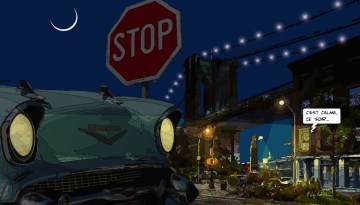 Brooklyn Bridge Chevy -- Medium 90x50 219€ // Large 140x80 429€