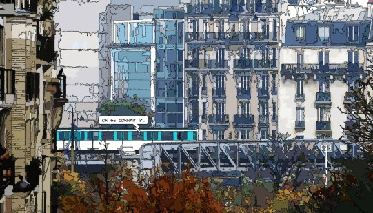 Metro On se connaît -- Medium 90x50 219€ // Large 140x80 429€