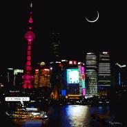 Shanghai docks -- Medium 80x80 239€ // Large 100x100 299€