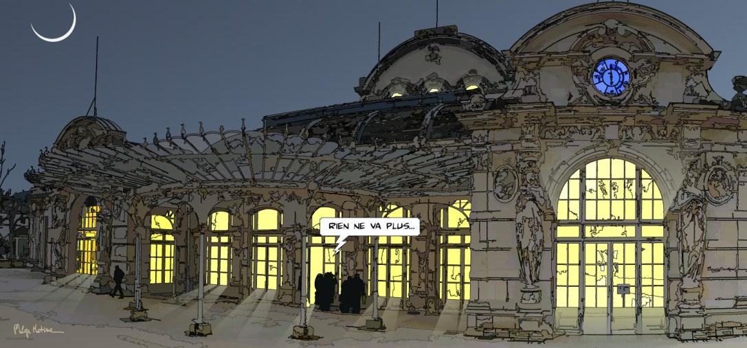 Casino Vichy -- Medium 100x40 199€ // Large 150x70 419€