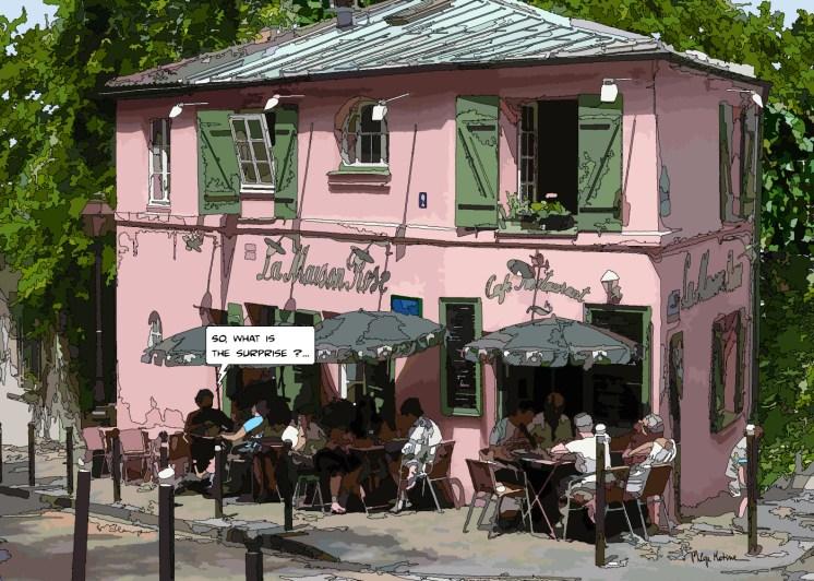 Maison Rose -- Medium 100x70 259€ // Large 140x100 429€